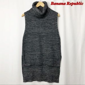 Banana Republic Cowl neck Hi lo Sleeveless tunic M